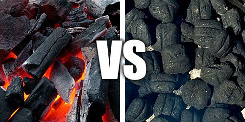 Charcoal -  Lump vs Briquettes  Swapping from Cowboy Charcoal to Royal Oak Lump.  Cowboy has become too inconsistent: too much dust and extra large chunks.  The bags have been made smaller and the price went up.