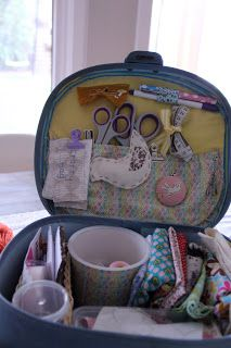 Mira Narnie: my creative space {a portable solution}