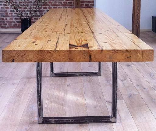 Tischplatte Aus Alten Balken Tisch Alter Balken Altholz