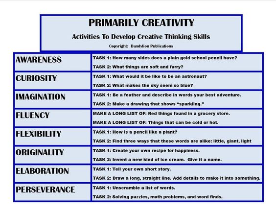 How to develop critical and creative thinking skills