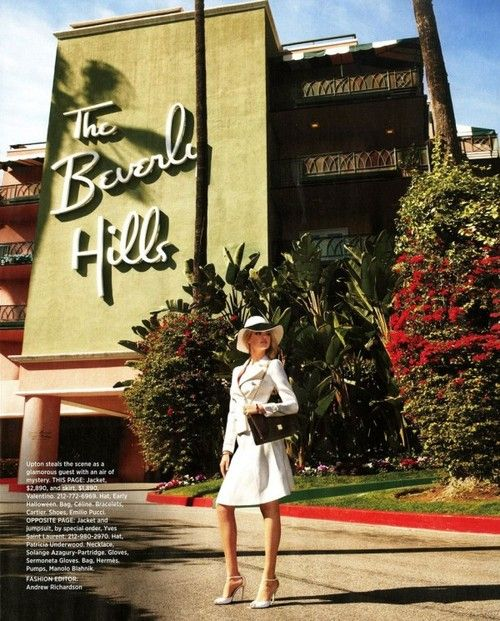 The Beverly Hills Hotel~est. May 12, 1912. Jacket & Skirt~Valentino