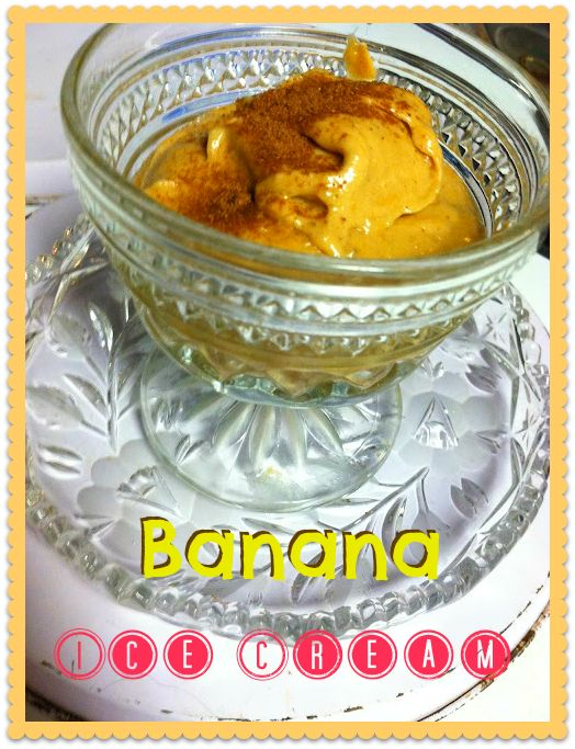 Make Banana Ice Cream for your next party