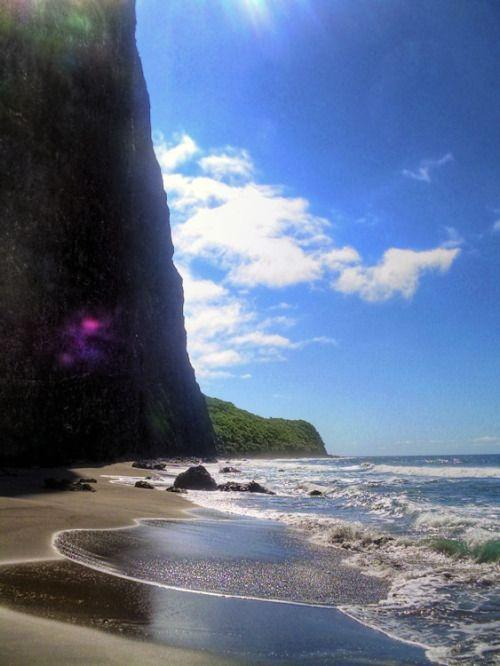 praia havaiana