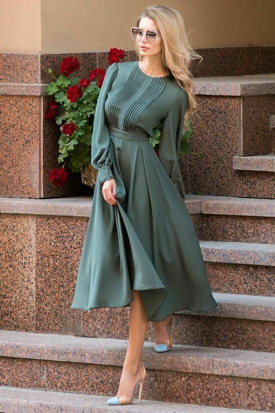 Идеальные платья на каждый день для наступающей зимы 2020 года | Твой стиль | Яндекс Дзен