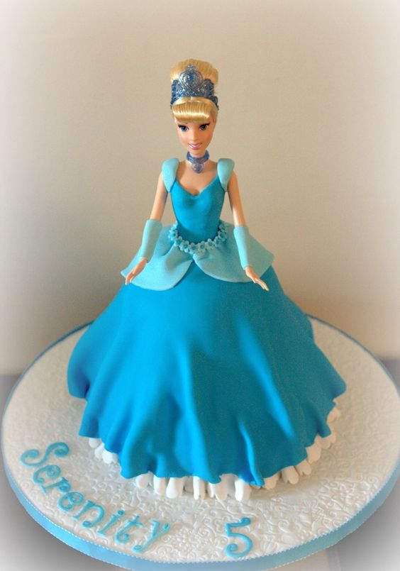 Cinderella Cake-Abby says she likes this one