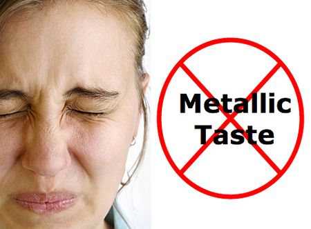When going through chemo, many WhatNexters notice a bad metallic taste in their mouth. Changes in taste, which is a common side effect of chemotherapy, can result in aversions to certain foods and loss of appetite. Different solutions to fight that nasty metal taste may work for different ...