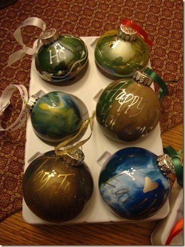 Plain ornament decorating