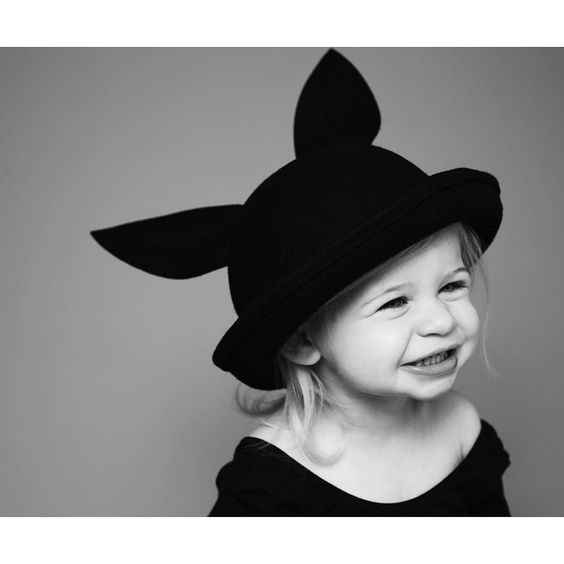 Without a doubt the cutest kids accessory of the season  We styled it in our HALLOWEEN SHOP and created the cutest look for our kids' favorite event...visit Minou Kids to see more photos! #bunnywoolhat #minidressing #thatsminou #minoustyle #backtofall #halloween : @ericaallenfoto by minoukids