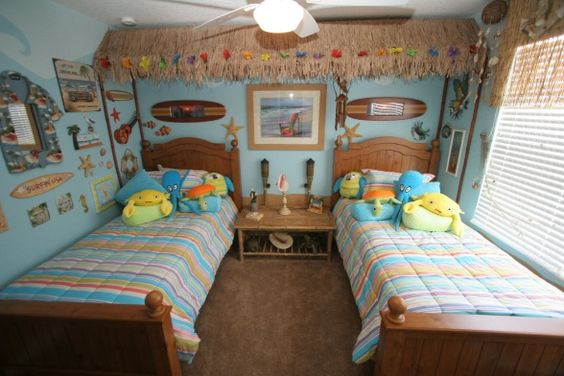 36 Breezy Beach Inspired Diy Home Decorating Ideas: Beach Bedrooms, Tiki Hut And Beaches On Pinterest