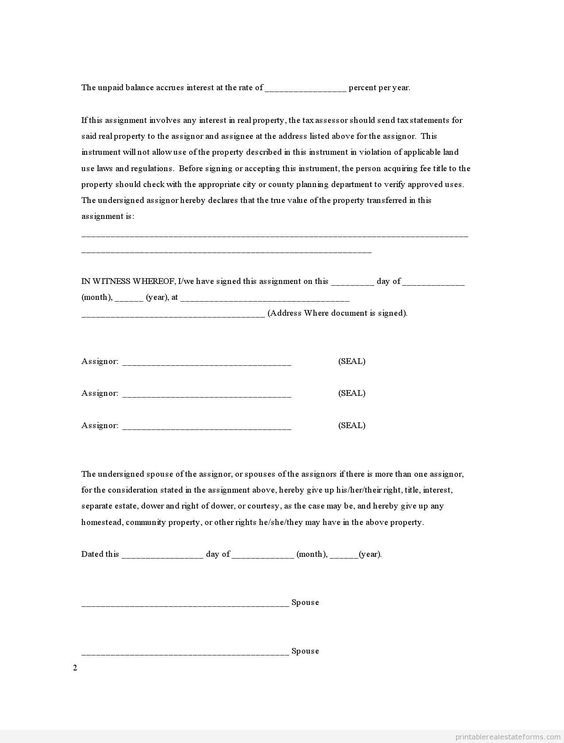 Printable Sample financial statement Form Real Estate Forms For - statement form in doc