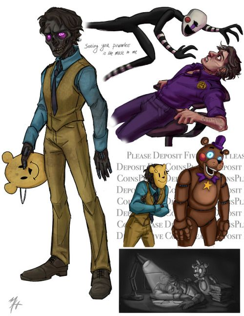 Wow This Is A Great Idea On What Michael Afton Could Look Like In Fnaf 6 Anime Fnaf Fnaf Comics Fnaf