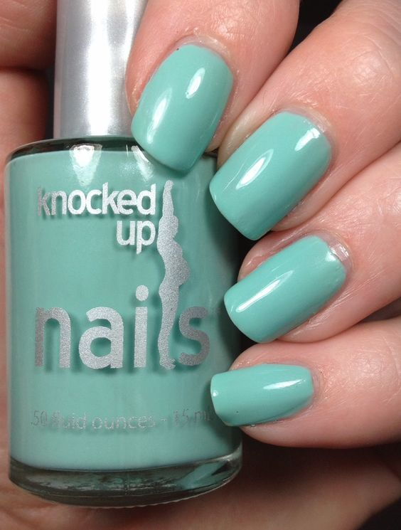 Tiffany blue, Blue box and Blue nails on Pinterest