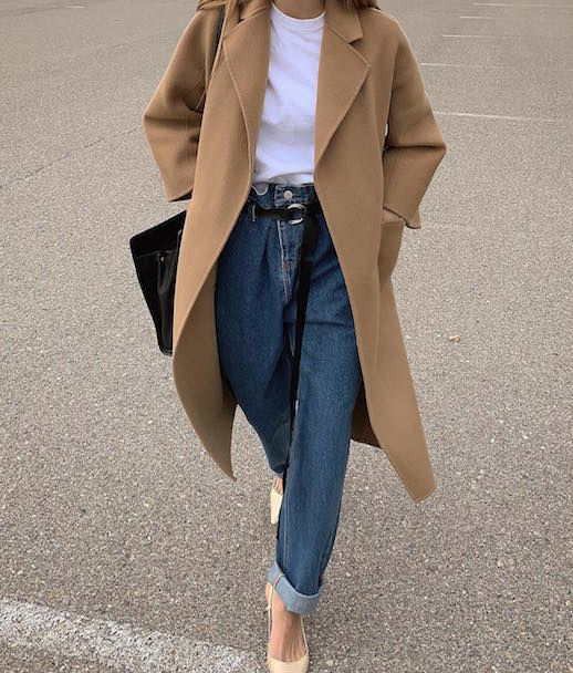 Пальто, джинсы ♨