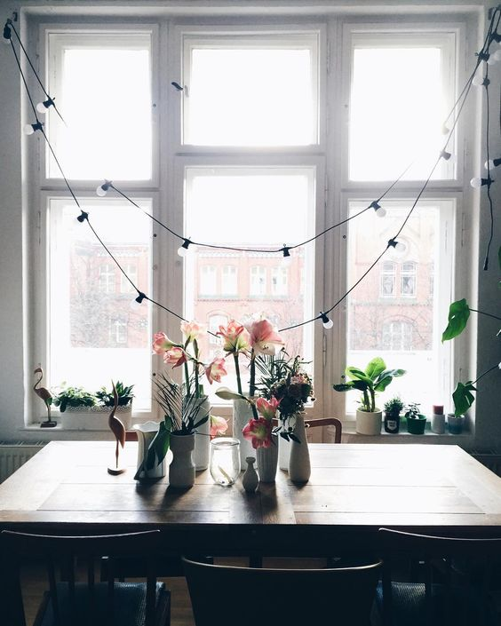String Lights Dining Room : Pinterest The world s catalog of ideas