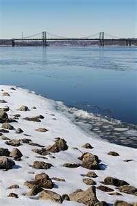 Mississippi River in Moline,IL