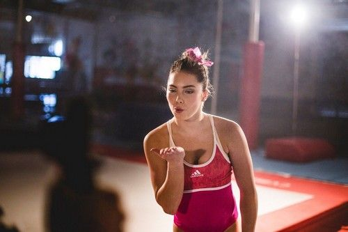 McKayla Maroney On the Sets of her Adidas Gymnastics Photoshoot in LA on May 24, 2013
