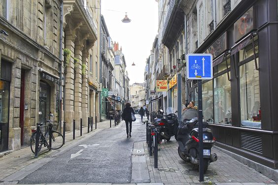 Улица в центре Бордо