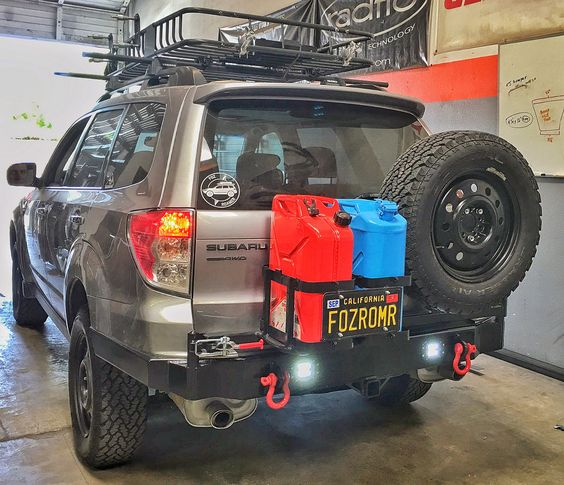 subaru forester rear front bumper build pics american adventurist camping and expedition. Black Bedroom Furniture Sets. Home Design Ideas