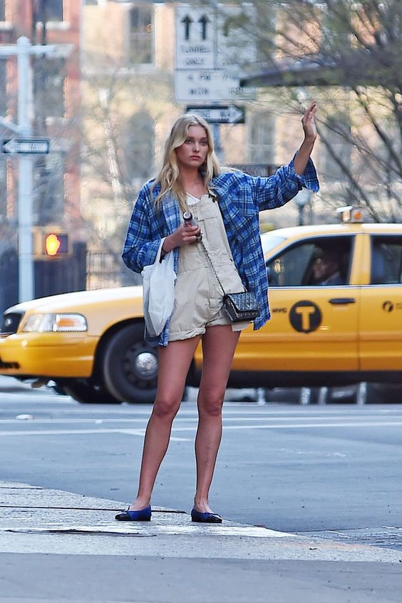 ELSA HOSK Hailing a Cab in New York: