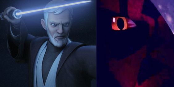 Star Wars: New Look at Obi-Wan Kenobi vs. Darth Maul Rebels Rematch