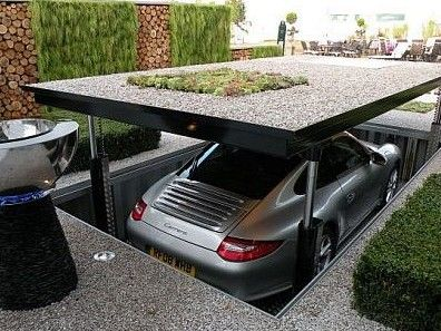 Brilliant idea for a garage!