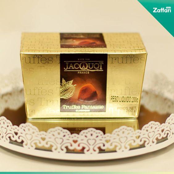 Trufas francesas da Jacquot: um presente bem cremoso para aguçar o seu paladar: http://bit.ly/163i6IR #zaffari