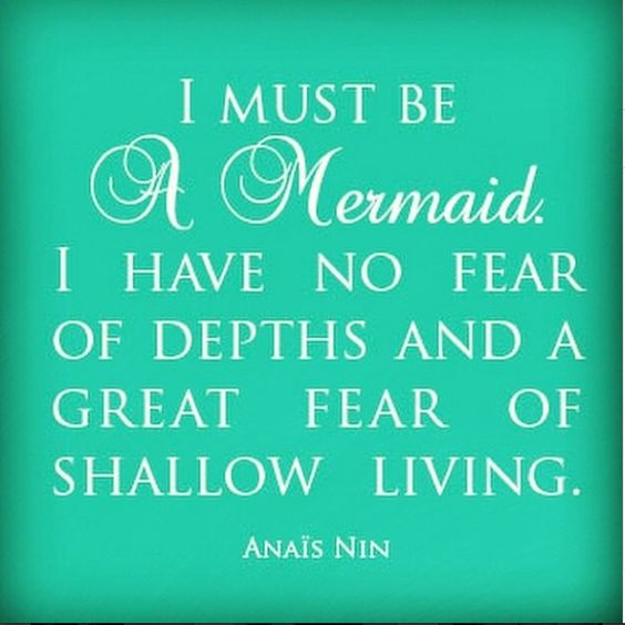 @capecodgypsymermaid...we couldn't agree more! #mermaids #befearless