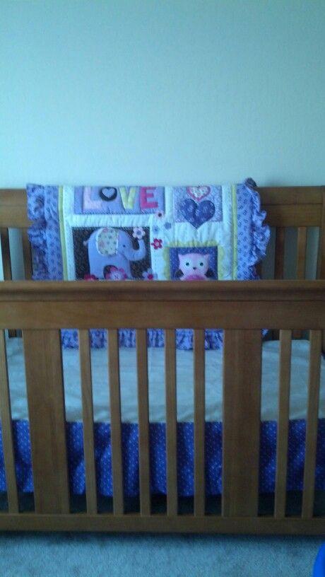 Coral nursery changing pad covers : Daphnes crib set  nursery pinterest cribs
