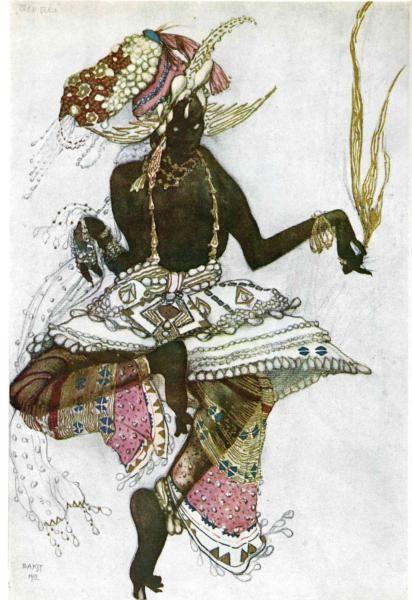 Arabic dancer.
