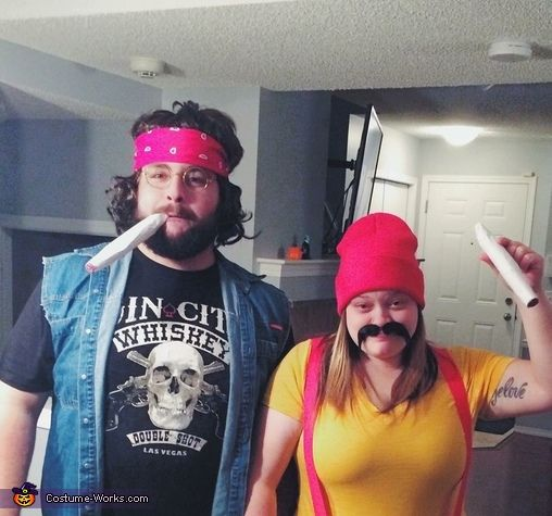 sc 1 st pinterest image number 2 of homemade couples halloween costume
