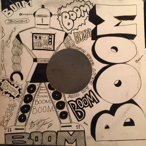 Hip hop pioneer Egyptian Lover offers up hand-drawn 12-inch covers