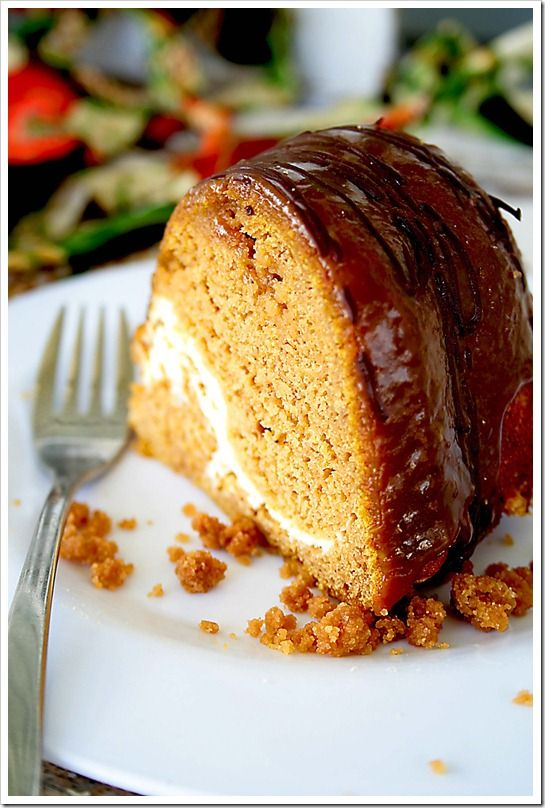 Pumpkin cream cheeses, Bundt cakes and Cream cheeses on ...