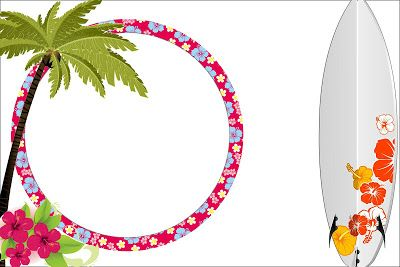 Imprimibles para Fiesta Hawaiana. | Ideas y material gratis para fiestas y…