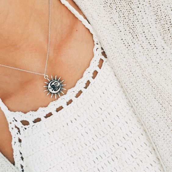Boho Sun Necklace
