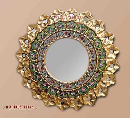 Espejos madera decoracion con espejos decoracion hogar - Decoracion de espejos ...