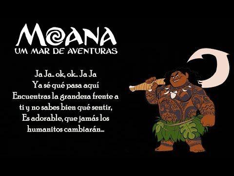 Moana De Nada Latino Letra Youtube Canciones De Disney Moana Canciones