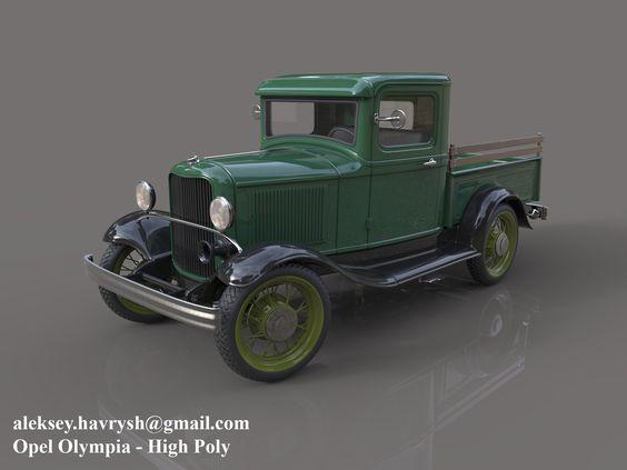 ArtStation - Ford Pickup 1932, Aleksey Havrysh