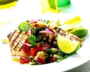 Grilled Spicy Tuna Steaks: Spicy Tuna Steaks
