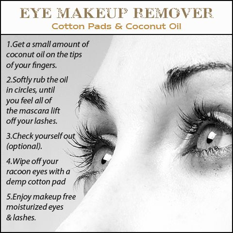 Eye Makeup Remover doesn't have to be expensive. Here's a gentle version that you can make at home, safe and effective