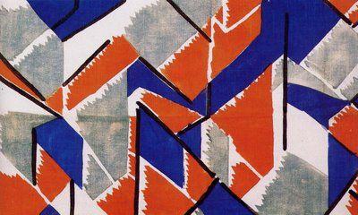 Vanessa Bell for Omega Workshops.Fabric design,