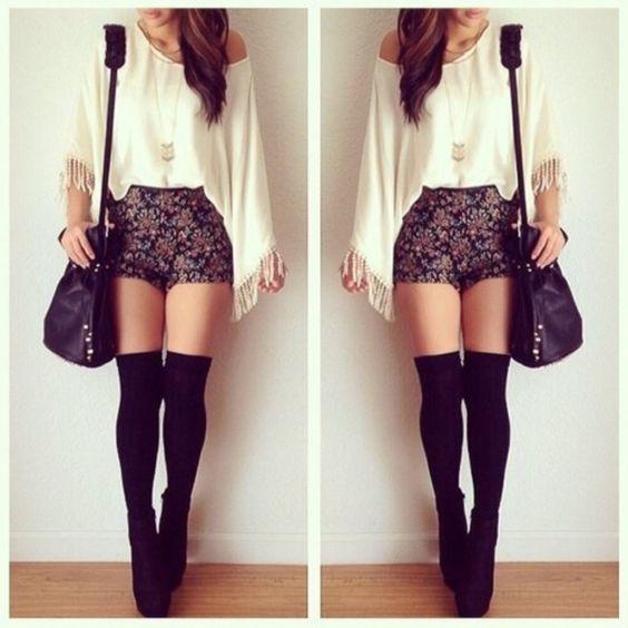 Black High Waisted Dress Shorts