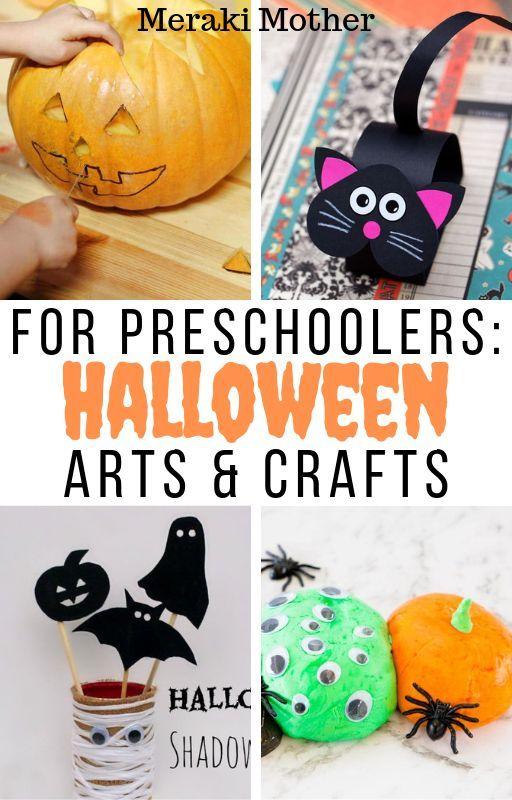Easy Halloween Arts And Crafts For Preschoolers Halloween Arts