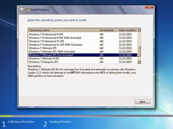 Windows 7 All in 1 Screenshots