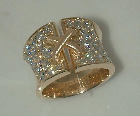 Mark Patterson 18k 24k Diamond Ring Amazing Jewelry Diamond Diamond Ring