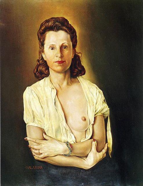 Dali, Salvador (1904-1989) - 1944-45 Galarina by RasMarley, via Flickr