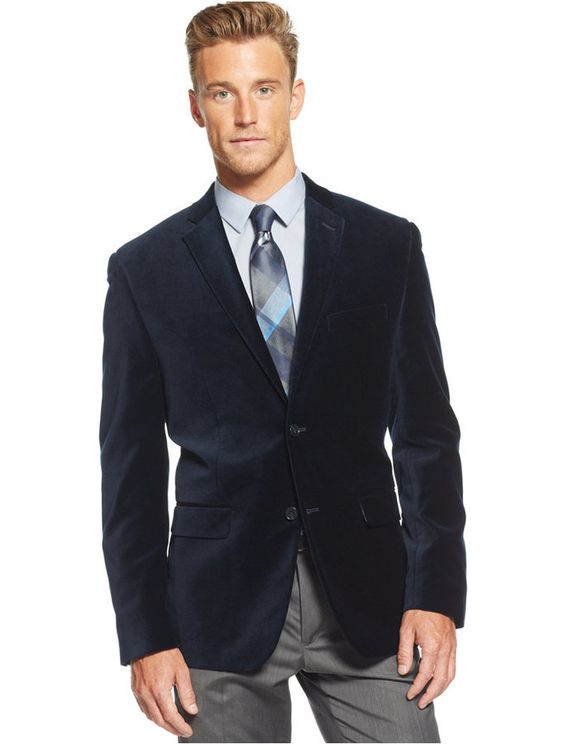 Red Slim Fit Velvet Sport Coat | Coats Shops and Blazers