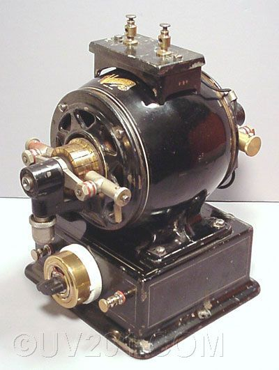 Antique Electric Motor Generator Victor Electric Company Vintage Electrical Pinterest