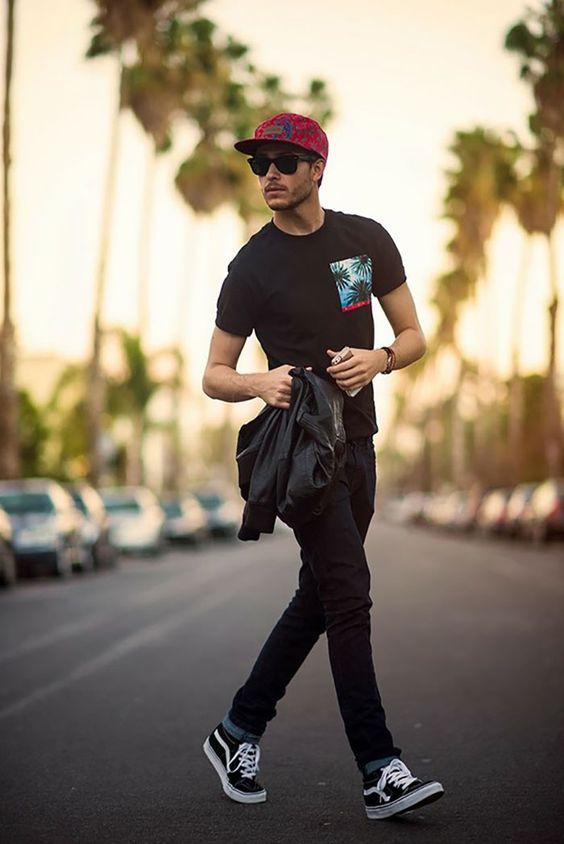Street Style! + de 40 inspirações de moda urbana masculina: