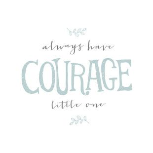'Courage', on Minted.com