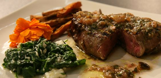 """From TV pilot """"House Calls"""" Chimichurri steak...  www.whatscookingwithdoc.com  jefenster"""